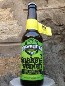 Snakes Venom - worlds strongest beer