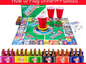 What is Drink-a-Palooza Drinking Board Game and How do you play it
