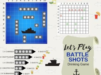 Let's Learn To Play Battle Shots Drinking Game the DIY Way